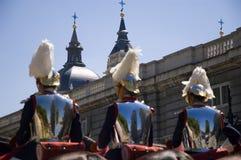 Spanish Royal Guard royalty free stock photo