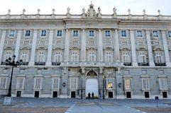 The Spanish Royal Palace Royalty Free Stock Photo