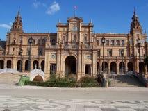 Spanish royal palace summer Royalty Free Stock Photo