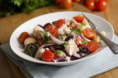 Spanish salad royalty free stock images