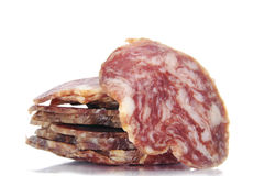 Spanish salami Royalty Free Stock Photos