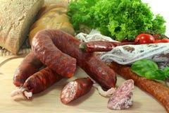 Spanish Salami Royalty Free Stock Photo