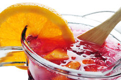 Spanish sangria Royalty Free Stock Images