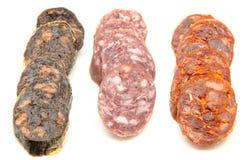 Spanish sausage Stock Photos
