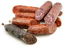 Spanish sausage Stock Photography