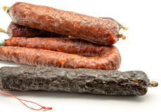 Spanish sausage Stock Photo