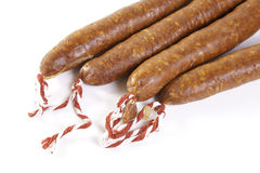 Spanish Sausage Royalty Free Stock Image
