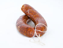 Spanish sausages Stock Images
