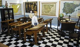 Spanish school royalty free stock photography