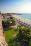 Spanish sea coast Royalty Free Stock Photography