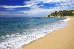 Spanish seaside in summer Royalty Free Stock Photography