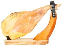 Spanish serrano ham Royalty Free Stock Photos
