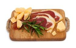 Spanish serrano ham Royalty Free Stock Photography