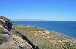 Spanish Settlements Near Alicante stock image