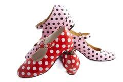 Spanish shoes Royalty Free Stock Photos