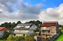 Spanish small village Boa Royalty Free Stock Photos