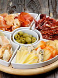 Spanish Snacks Royalty Free Stock Image