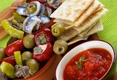 Spanish Snacks Stock Images