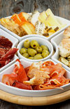 Spanish Snacks Royalty Free Stock Photography