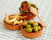 Spanish Snacks Royalty Free Stock Photos