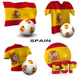 Spanish Soccer Stock Photos