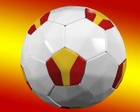 Spanish soccer ball Stock Photo