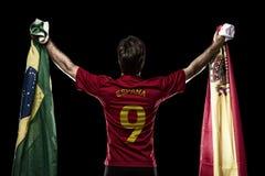 Spanish soccer player Royalty Free Stock Photos