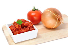 Spanish sofrito Stock Photography