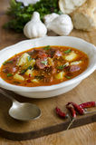 Spanish Soup Stock Photos