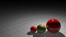 Spanish spheres stock video