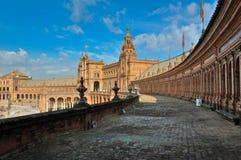 Spanish Square Castle Stock Photos