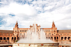Spanish Square in Sevilla Stock Photography