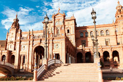 Spanish Square in Sevilla Royalty Free Stock Photos
