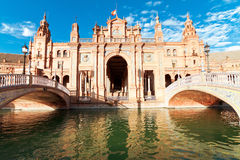 Spanish Square in Sevilla Royalty Free Stock Image
