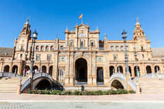 Spanish Square Seville Royalty Free Stock Image