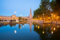 Spanish Square Seville Royalty Free Stock Image