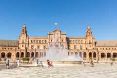 Spanish Square Seville Royalty Free Stock Images
