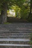 Spanish stairs, Jardines de la Granja de San Ildefonso, monument Stock Photography
