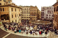 Rome Famous Place Royalty Free Stock Images