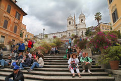 Spanish Step Stock Photography