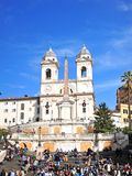 Spanish steps Royalty Free Stock Photo