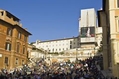 The Spanish steps Royalty Free Stock Photos