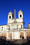 spanish steps Stock Photography
