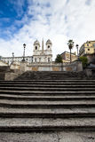 Spanish Steps Royalty Free Stock Photo