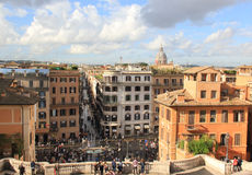 Spanish Steps Royalty Free Stock Images