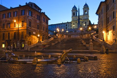Free Spanish Steps Stock Photography - 8114422