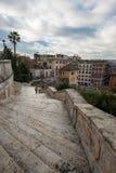 Spanish steps Royalty Free Stock Photos