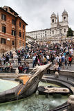 Spanish steps, Rome Stock Images