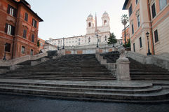 The Spanish Steps, Rome Stock Image