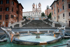 Spanish Steps , Rome Royalty Free Stock Image
